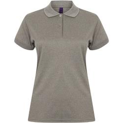Vêtements Femme Polos manches courtes Henbury Coolplus Gris