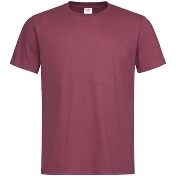 Vêtements Homme T-shirts manches courtes Stedman Classics Rouge foncé