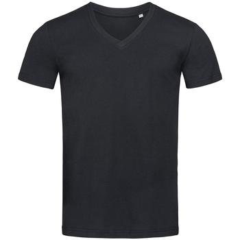 Vêtements Homme T-shirts manches courtes Stedman Stars Organic Noir