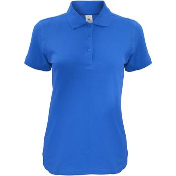 Vêtements Femme Polos manches courtes B And C Safran Bleu roi