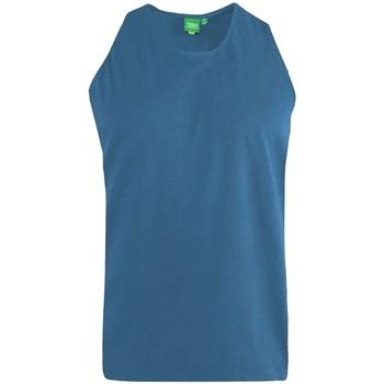 Vêtements Homme Débardeurs / T-shirts sans manche Duke Fabio Bleu sarcelle