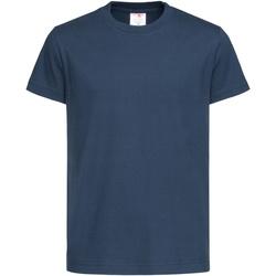 Vêtements Enfant T-shirts manches courtes Stedman Organic Bleu marine