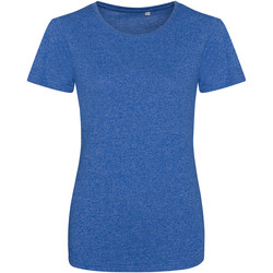 Vêtements Femme Lyle & Scott Awdis Girlie Bleu royal / blanc