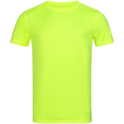 Vêtements Homme T-shirts manches courtes Stedman Mesh Jaune