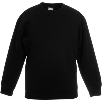 Vêtements Enfant Sweats Fruit Of The Loom 62041 Noir