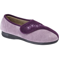 Chaussures Femme Chaussons Sleepers Embroidered Pourpre/Lilas