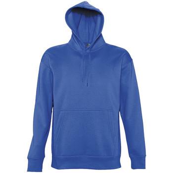 Vêtements Homme Sweats Sols Hooded Bleu roi