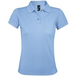 Vêtements Femme Polos manches courtes Sols Prime Bleu ciel