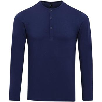 Vêtements Homme T-shirts manches longues Premier Long John Indigo
