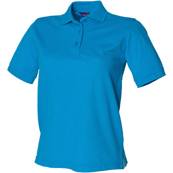Vêtements Femme Polos manches courtes Henbury HB401 Bleu saphir