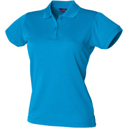 Vêtements Femme Polos manches courtes Henbury Coolplus Bleu saphir