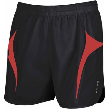 Vêtements Homme Shorts / Bermudas Spiro S183X Noir/Rouge