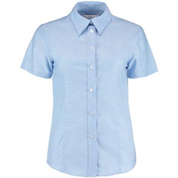 Vêtements Femme Chemises / Chemisiers Kustom Kit Oxford Bleu clair
