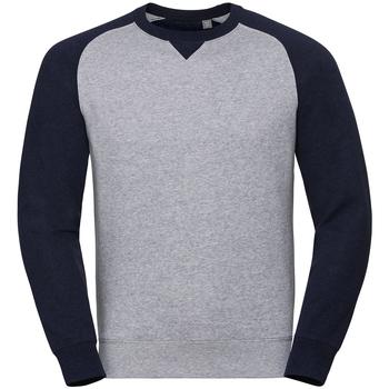 Vêtements Homme Sweats Russell Sweat BASEBALL RW7106 Gris clair / Bleu petrol