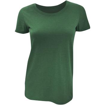 Vêtements Femme T-shirts manches courtes Bella + Canvas Triblend Emeraude