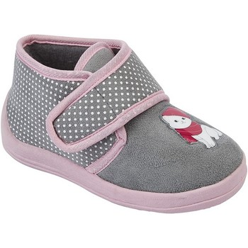 Chaussures Fille Chaussons Sleepers Whiskers Gris/Rose