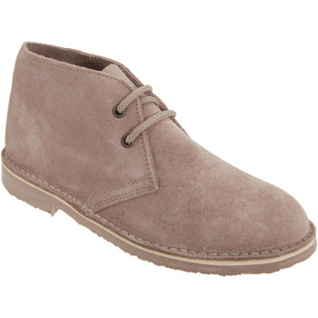 Chaussures Femme Boots Roamers Desert Taupe clair