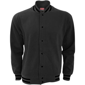 Vêtements Homme Blousons Fdm Varsity Gris foncé/Noir