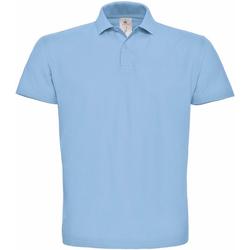 Vêtements Femme Polos manches courtes B And C ID.001 Bleu clair