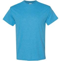 Vêtements Homme T-shirts manches courtes Gildan Heavy Bleu bondi