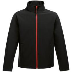 Vêtements Homme Polaires Regatta RG627 Noir/rouge