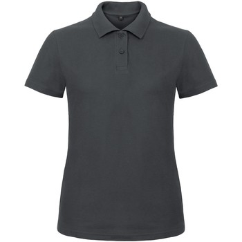 Vêtements Femme Polos manches courtes B And C ID.001 Anthracite