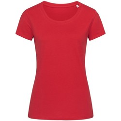 Vêtements Femme T-shirts manches courtes Stedman Stars Organic Rouge