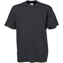 Vêtements Homme T-shirts manches courtes Tee Jays TJ8000 Gris foncé