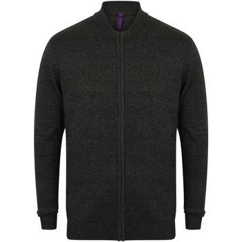 Vêtements Pulls Henbury Knitted Gris chiné