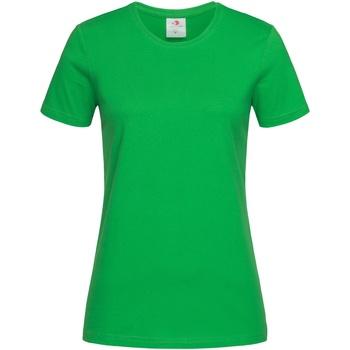 Vêtements Femme T-shirts manches courtes Stedman Classics Vert sapin