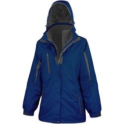 Vêtements Femme Coupes vent Result R400F Bleu marine/ Noir
