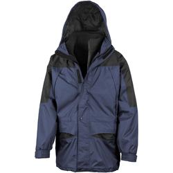 Vêtements Homme Coupes vent Result Alaska Bleu marine/Noir