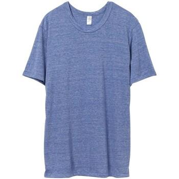 Vêtements Homme T-shirts manches courtes Alternative Apparel Jersey Bleu chiné