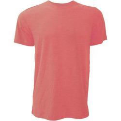 Vêtements Homme T-shirts manches courtes Bella + Canvas Jersey Rouge chiné