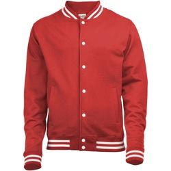 Vêtements Homme Blousons Awdis Varsity Rouge feu