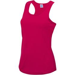 Vêtements Femme Débardeurs / T-shirts sans manche Just Cool Girlie Rose