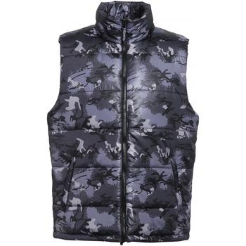 Vêtements Homme Doudounes 2786 TS015 Camouflage gris