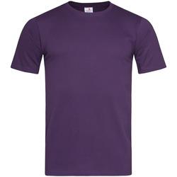 Vêtements Homme T-shirts manches courtes Stedman Classic Violet
