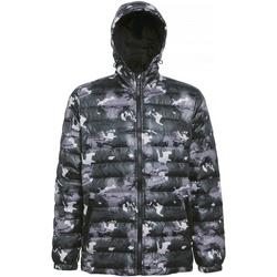 Vêtements Homme Doudounes 2786 TS016 Vert camouflage