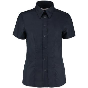 Vêtements Femme Chemises / Chemisiers Kustom Kit Oxford Bleu marine