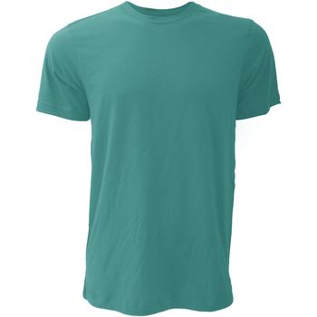 Vêtements Homme T-shirts manches courtes Bella + Canvas Jersey Sarcelle profond