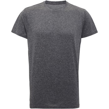 Vêtements Homme T-shirts manches courtes Tridri TR010 Noir chiné