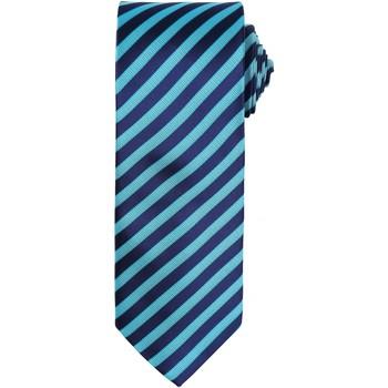 Vêtements Homme Cravates et accessoires Premier Stripe Turquoise/Bleu marine