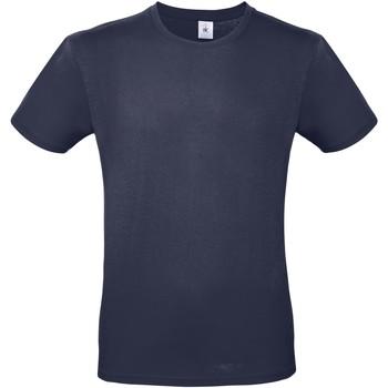 Vêtements Homme T-shirts manches courtes B And C E150 Bleu marine