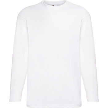 Vêtements Homme T-shirts manches longues Universal Textiles 61038 Blanc