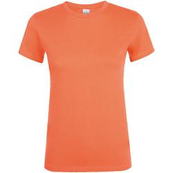 Vêtements Femme T-shirts manches courtes Sols Regent Abricot