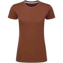 Vêtements Femme T-shirts manches courtes Sg Perfect Corail