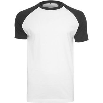 Vêtements Homme T-shirts manches courtes Build Your Brand Contrast Blanc / noir