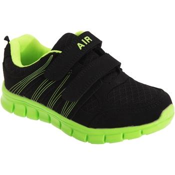 Chaussures Enfant Multisport Dek Sprint Noir/Vert citron