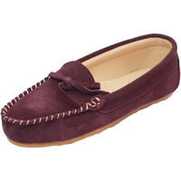 Chaussures Femme Chaussons Eastern Counties Leather Moccasin Prune